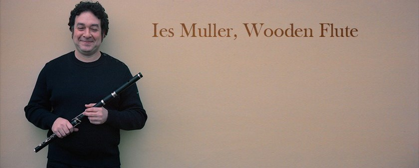 Flute player Ies Muller. Flute, tin whistle, low whistle and pipes.